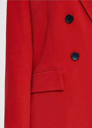Красный брючный костюм скидка только 3 дня!!!!!5 фото