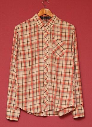 Tommy hilfiger рр m рубашка из хлопка оригинал