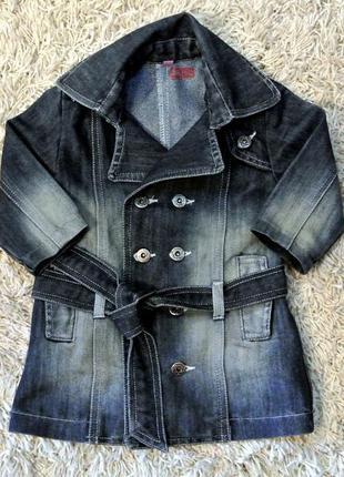 Джинсовый пиджак 12-18 мес.
