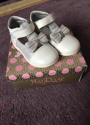 Дитячі туфлі mari rose