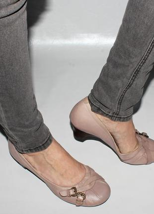 Туфли 39 р.  clarks англия, кожа оригинал.
