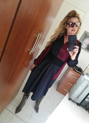 Классическое  стильное платье италия3 фото