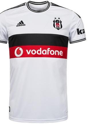 Оригинал подростковая футбольная футболка besiktas istanbul adidas. размер 164 xs