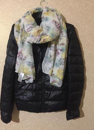 Новый фирменный роскошный весенний шарф next