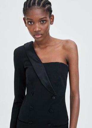 Ассиметричное платье - смокинг