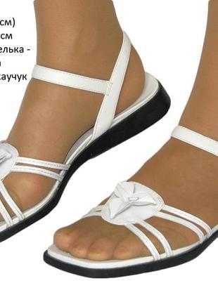 Белоснежные босоножки, сандалии ecco р.39 много обуви