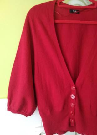 Шикарный кардиган кашемир шерсть ангора от f&f2 фото