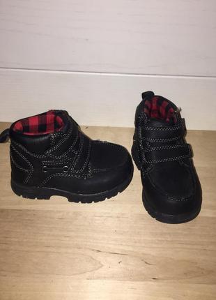 Tks ботинки из сша 22,5 р полусапожки деми кросовки зима демисезонные