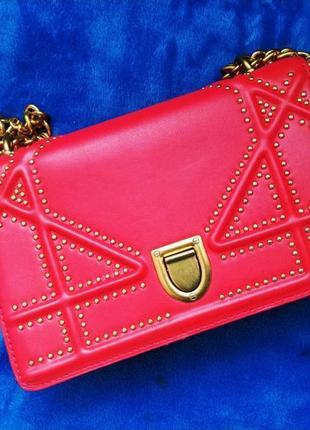 Клатч сумка красная