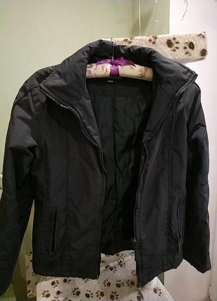 Куртка madoc jeans черная размер м