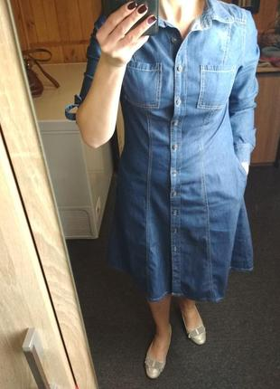 Очень стильное джинсовые платье, arizona, p. 404 фото