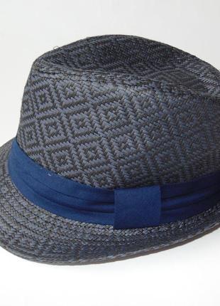 Шляпа трилби летняя под соломку c&a 59 р