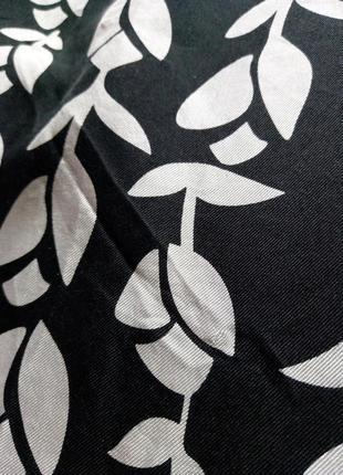 Шелковое -100% шелк -натуральное платье от warehouse с принтом. оригинал8 фото