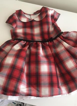 Нарядное платье carter's 12m