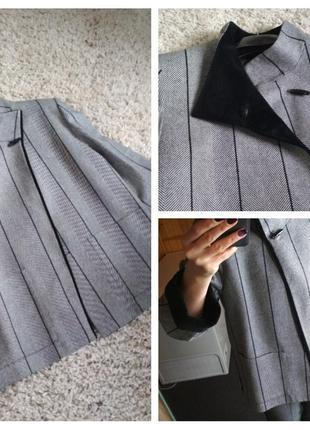 Шикарное стильное легкое пальто,жакет ,gaston jaunet, франция, р. 46-50