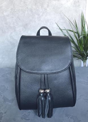 Кожаный рюкзак италия1