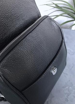 Кожаный рюкзак италия4