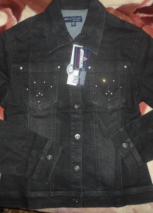 Классный джинсовый пиджак