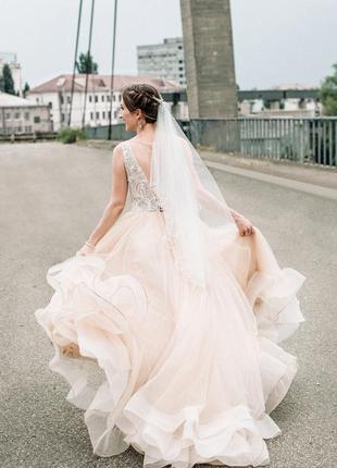 Свадебное торжественное вечернее платье