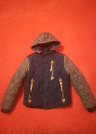 Крута куртка курточка парка 5-6 років1 фото