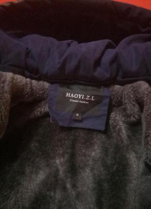 Крута куртка курточка парка 5-6 років4 фото