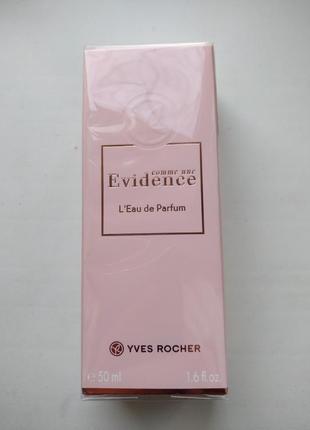 Парфюмированная вода evidence yves rocher 50 ml