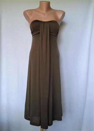Трикотажное платье massimo dutti, размер s