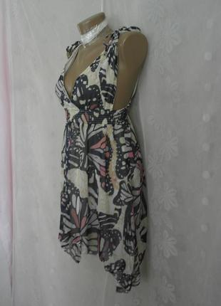 Шифоновое платье-сарафан на жаркое лето -s-м и  хl.