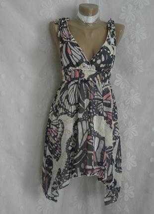 Шифоновое платье-сарафан на жаркое лето -s-м и  хl.5 фото