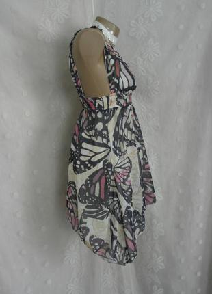 Шифоновое платье-сарафан на жаркое лето -s-м и  хl.4 фото