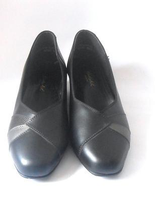 Элегантные туфли berkertex, англия! р.41-42 код k4231