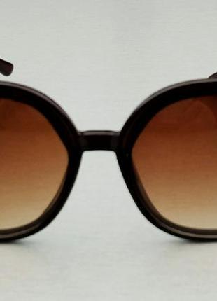 Chloe очки женские солнцезащитные коричневые