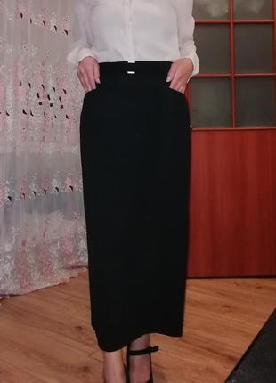 Пряма юбка миди marks spencer