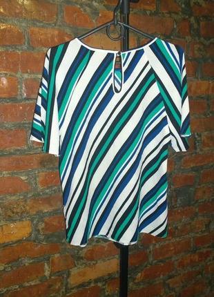 Блуза топ кофточка в полоску george2 фото