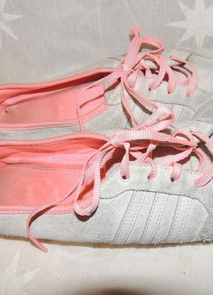 Замшевые кроссовки adidas neo labelр.39