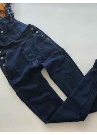 Шикарный джинсовый комбинезон american legend рр с-м