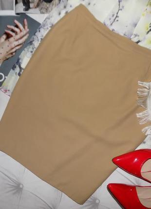 Статусная шерстяная юбка