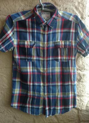 Рубашка,батник слим jack & jones р.м