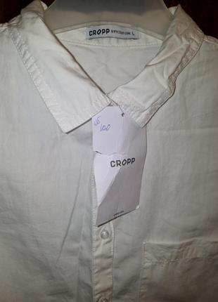 Продам новую женскую белую рубашку