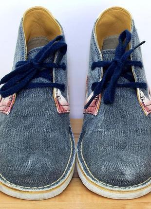 Деми ботинки кларкс4 фото