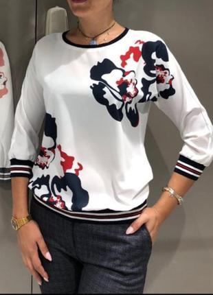Блузка  perzoni  большого размера свитшот кофта футболка