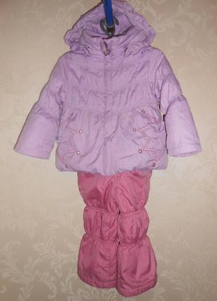Donilo kiko р. 80-86 см демисезонный костюм куртка комбинезон