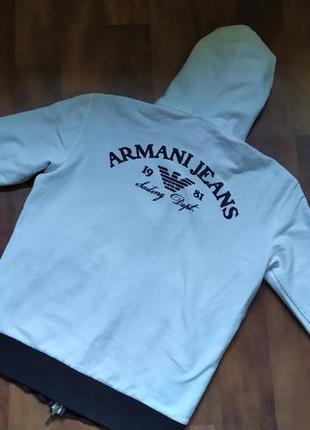 Толстовка кофта armani jeans оригинал