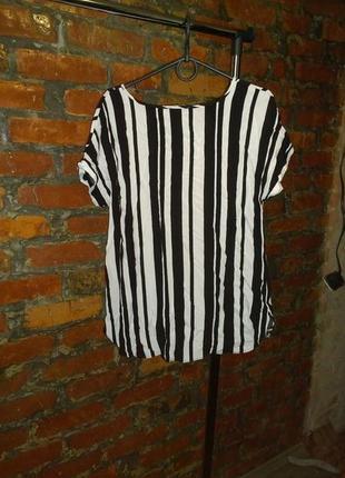 Блуза кофточка в полоску papaya2 фото