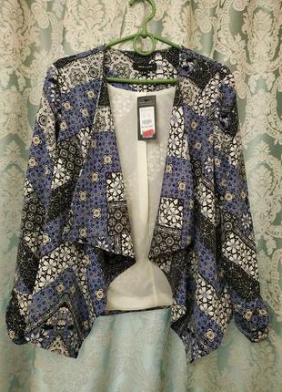 Красивый лёгкий кардиган накидка пиджачок от new look