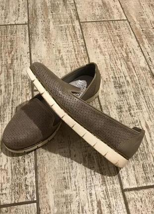 Туфли#лоферы#мокасины кожа rieker
