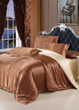 Комплект постельного белья из атласа
