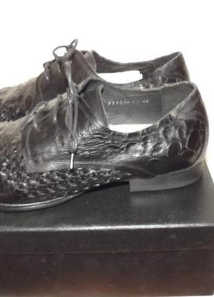Туфли мужские кожаные glossi 44 размер