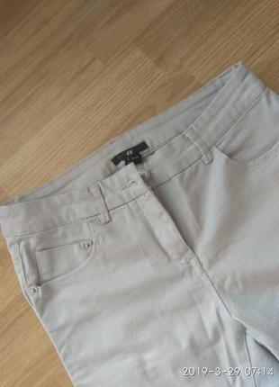 Катоновые брюки, джинсы.