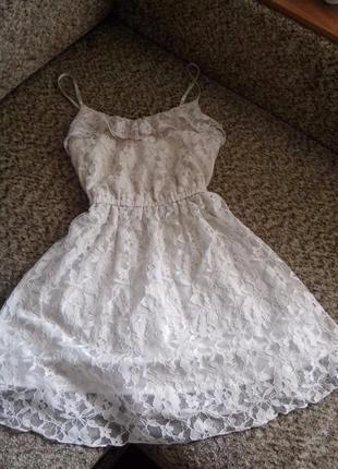 Очень нежное платье h&m